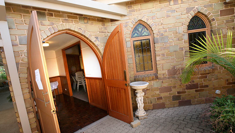 Chapel Entrance - Princes Court Elderly Homes & Village Mildura
