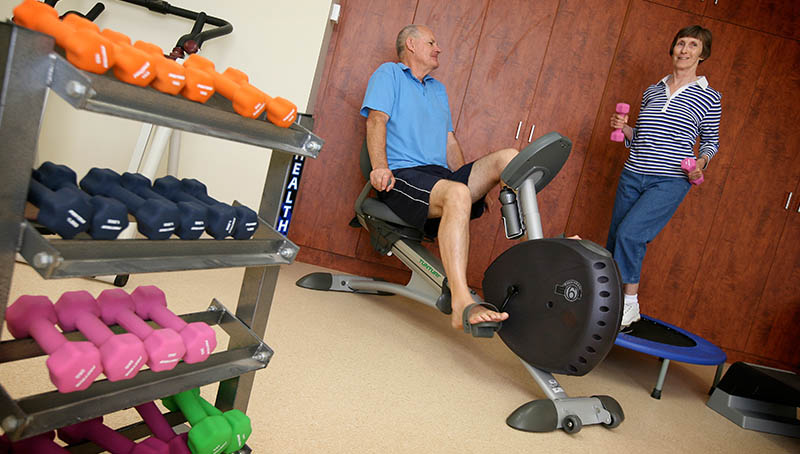 Keeping fit - Princes Court Elderly Homes & Village Mildura