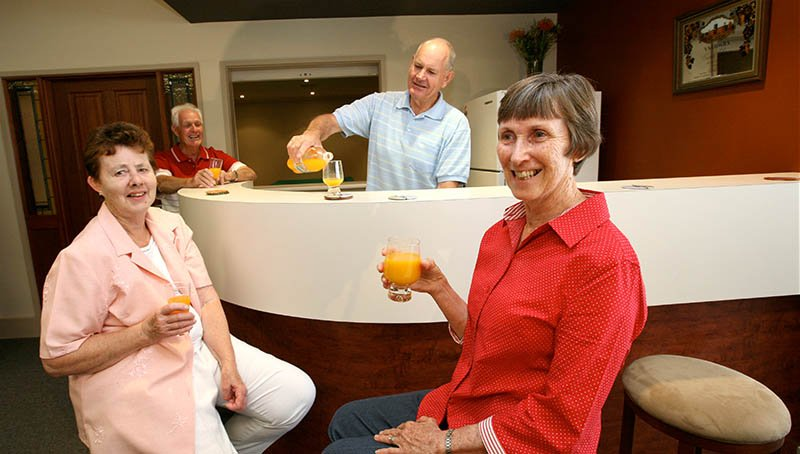 Refreshing drinks - Princes Court Elderly Homes & Village Mildura