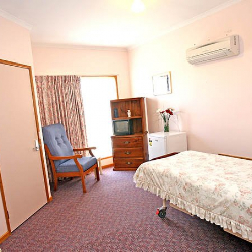 Bedroom - Princes Court Elderly Homes & Village Mildura